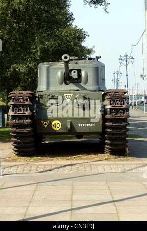 CHURCHILL MK 7 CROCODILE TANK - Stock Photo