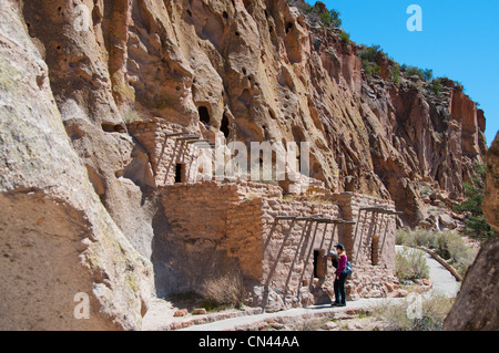 Bandelier National Monument NM - Stock Photo