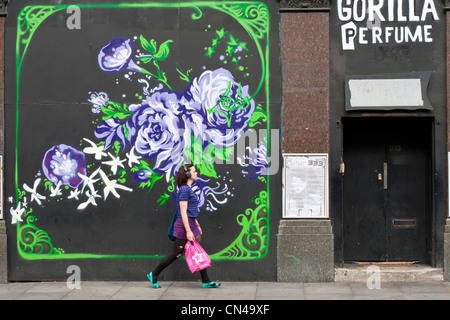 United Kingdom, London, Hackney, Shoreditch, front of club 333 Mother - Stock Photo
