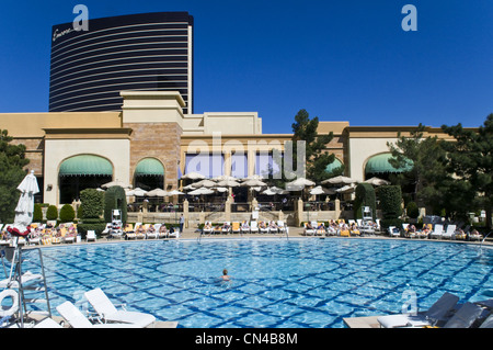 United Statess, Nevada, Las Vegas, The Wynn casino resort hotel of MG group - Stock Photo