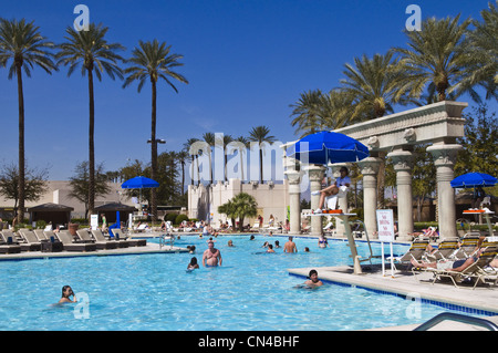 United Statess, Nevada, Las Vegas, Louxor casino hotel - Stock Photo