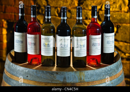 Australia, South Australia, La Clare Valley, Knappstein wines of which the first winery was created in 1878 - Stock Photo