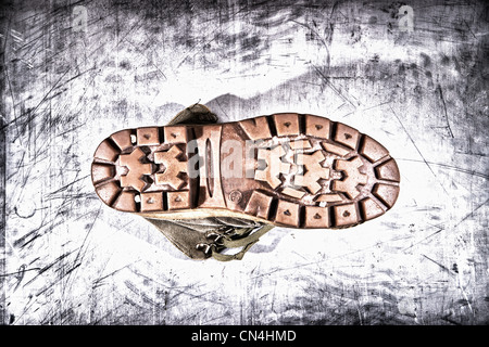 Boot sole - Stock Photo