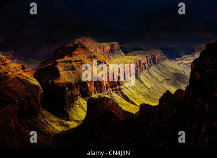 Grand Canyon North Rim, Arizona, USA - Stock Photo