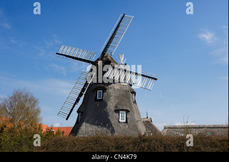 Germany, Mecklenburg-Western Pomerania, Ruegen island, National Park of Jasmund, listed as World Heritage by UNESCO, - Stock Photo
