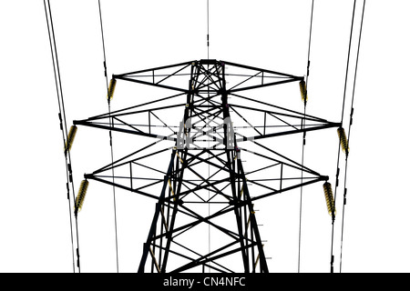 ELECTRICITY  PYLON ELECTRIC - Stock Photo