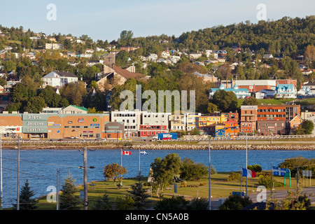 Canada, Quebec Province, Gaspe Peninsula, Gaspe, general view of the city - Stock Photo