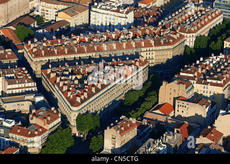 France, Bouches du Rhone, Marseille, 2nd district, Zone Euromediterranee area of   the Republic, Ladies Boulvard - Stock Photo