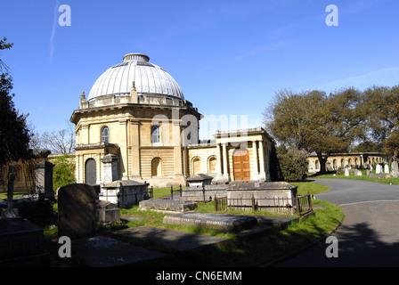 Old Brompton Cemetery - Stock Photo