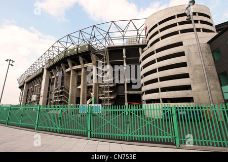 The back of the West Stand at Twickenham stadium in London, England. - Stock Photo