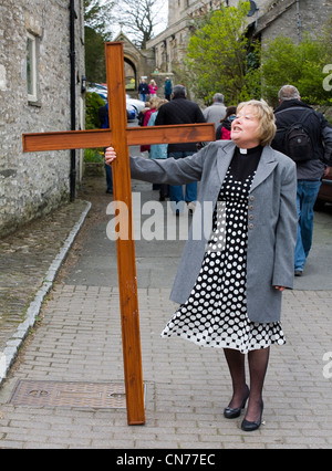 Good Friday Events 2012 _ Middleham Stables Open Day, North Yorkshire National Park, UK _ The dales - Stock Photo