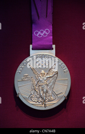 2012 Olympic Gold Medal - Stock Photo