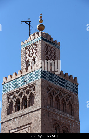 Koutoubia Mosque in Marrakech - Stock Photo