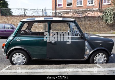 Side View Of An Old Classic Car Stock Photo Royalty Free Image