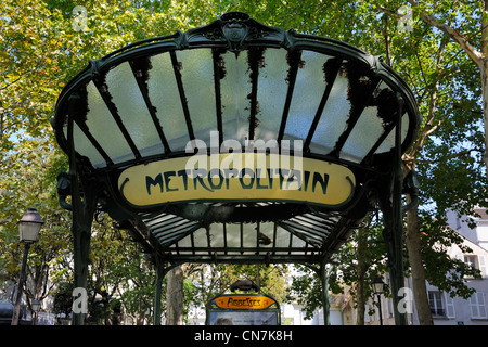 Metro station at Place des Art, Montreal, Quebec Province, Canada ...