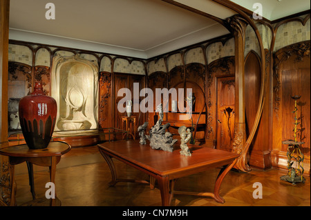 France Paris The Orsay Museum Dining Room In Art Nouveau Style Of