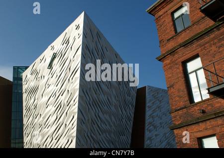 Titanic Signature Building - Stock Photo