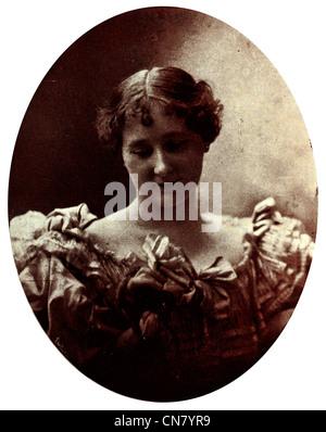 Prabod Hananda Mrs Louise Greenidge of Chicago 1900 - Stock Photo