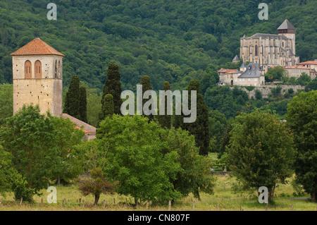 France, Haute Garonne, Saint Bertrand de Comminges, labeled Les Plus Beaux Villages de France (The Most Beautiful - Stock Photo
