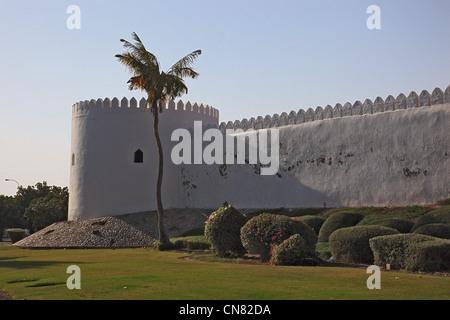 Fort von Sohar, Al Hujra, Oman - Stock Photo