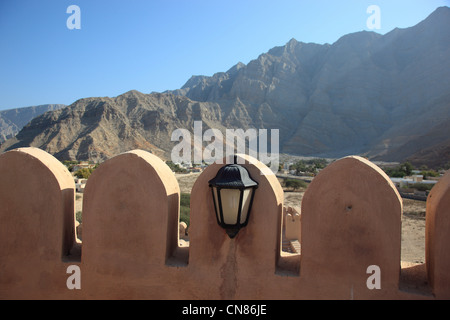 Bukha Fort, Bukha, Bucha, in der omanischen Enklave Musandam, Oman - Stock Photo