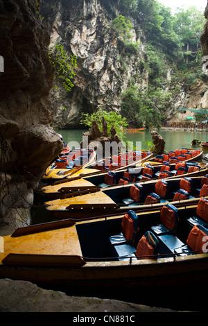 Landscape of Tianhetan ,Guiyang, Guizhou China - Stock Photo