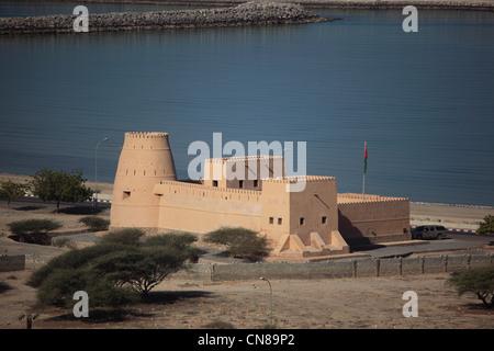 Fort von Bukha, in der omanischen Enklave Musandam, Oman - Stock Photo