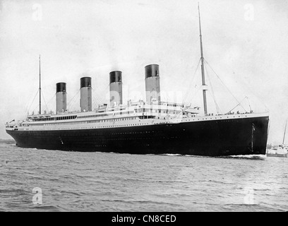 RMS Titanic - Stock Photo