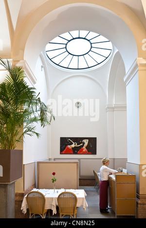 Vienna, Austria, Ring, restaurant Hansen in the basement of Vienna's Stock exchange - Stock Photo