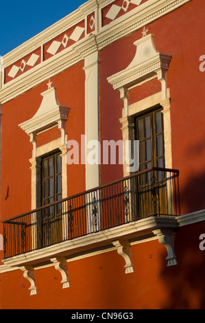 Mexico, Yucatan state, Campeche, old historic center listed as World Heritage by UNESCO - Stock Photo