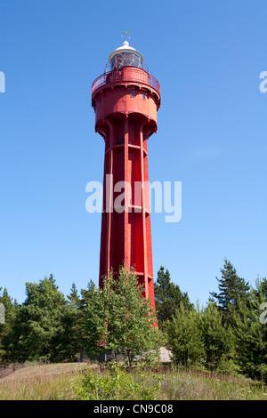 Estonia (Baltic States), Hiiu Region, Hiiumaa Island, Lighthouse of Kopu - Stock Photo