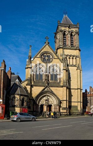 St Wilfrid's Church (Victorian Gothic) Duncombe Place York North Yorkshire England UK United Kingdom GB Great Britain - Stock Photo