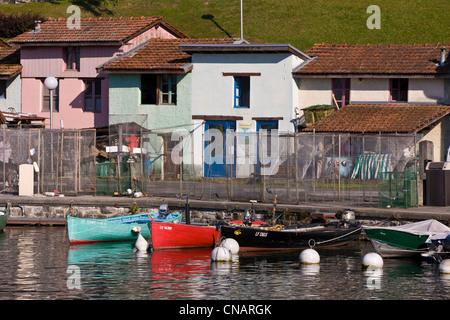 France haute savoie le chablais yvoire labeled les plus beaux stock photo royalty free - Restaurant port de thonon ...