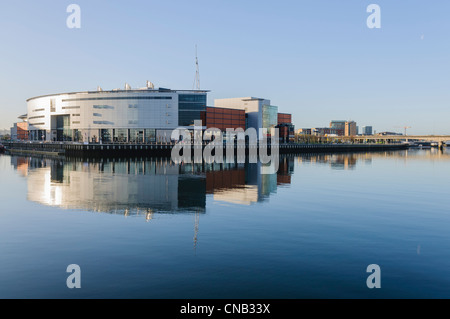 Odyssey Arena, Belfast - Stock Photo