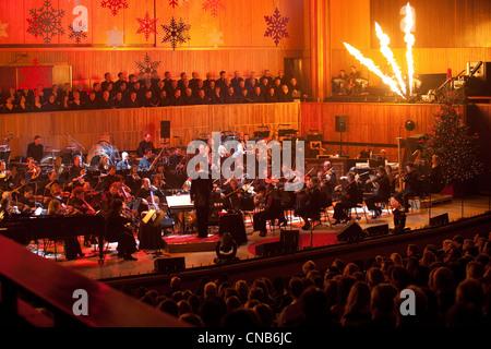 London Philharmonic Orchestra at the Royal Festival Hall UK - Stock Photo