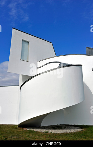 Germany, Baden Wuerttemberg, Weil am Rhein, Vitra Design Museum by architect Frank Gehry - Stock Photo