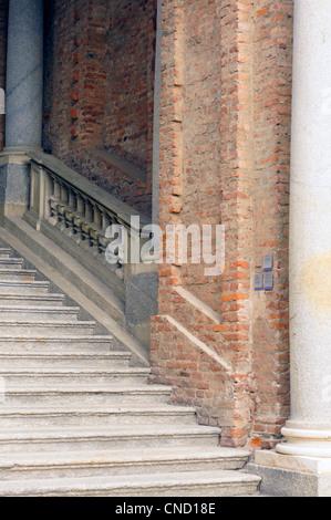 Castello di Rivoli, Torino - Stock Photo