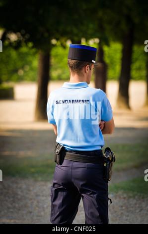Gendarme at Les Invalides, Paris, France - Stock Photo