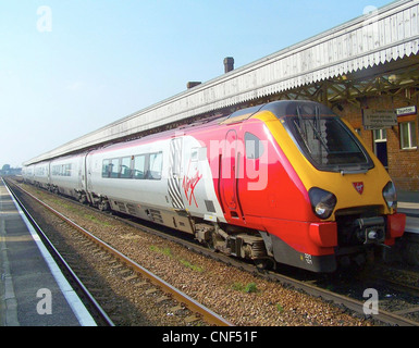 Virgin Cross Country Class 221 Super Voyager No. 221121 at Taunton - Stock Photo