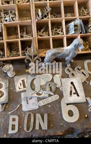 sale, metal letters stock photo, royalty free image: 103537211 - alamy
