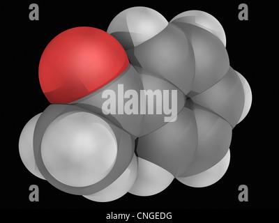 Acetophenone molecule - Stock Photo