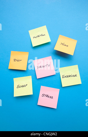 Healthy lifestyle  conceptual image - Stock Photo