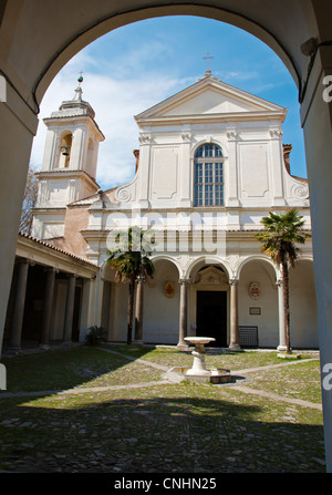 Rome - basilica di San Clemente - Stock Photo