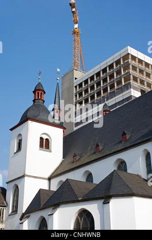St. Heribert Greek-Orthodox church, Cologne, Germany. - Stock Photo