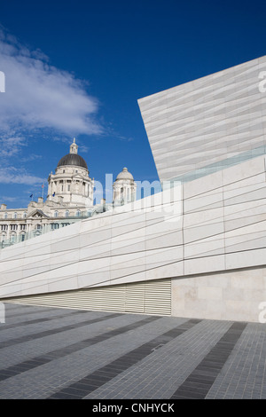 Museum of Liverpool and Port of Liverpool Building, Liverpool, UK - Stock Photo
