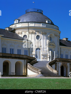 Rokokoschloss Solitude in Stuttgart, Baden-Wuerttemberg - Stock Photo