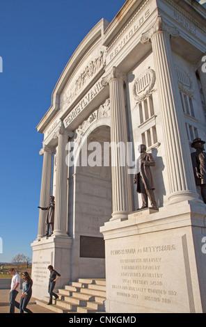 Gettysburg National Military Park Visitor Center - Stock Photo