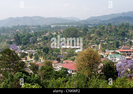 View of Kalaw, Burma. Myanmar - Stock Photo