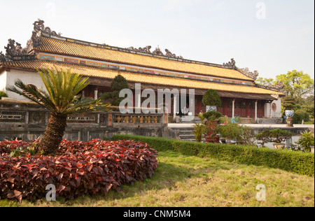 Thai Hoa Palace in the Imperial City, Hue, Vietnam - Stock Photo