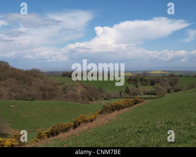 Hinkley Point Nuclear Power Station. Bristol Channel. Somerset. - Stock Photo